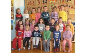 Otroci v lokavškem vrtcu - foto Maja Lokar