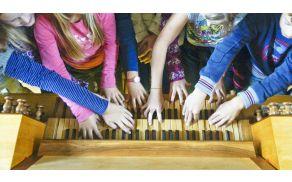 Prsti na klaviaturah. Foto: Društvo Jarina
