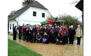 Člani AI Pameče Troblje v Kumrovcu na ogledu Titove rojstne hiše in Muzeja Staro Selo