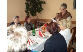 Poročilo predsednice aktiva JC NTU Cvetke Polenik