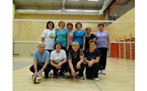 Ženska rekreacija pod vodstvom Francke Tanc je lani praznovala 40 let.
