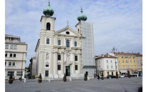 Travnik - glavni trg v Gorici