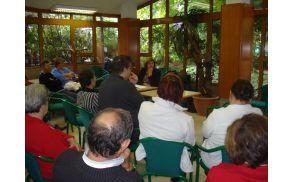 * Udeleženci seminarja.