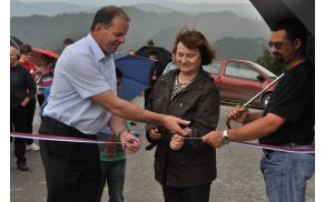 Slavnostno odprtje ceste Rovt–Alič–Buh