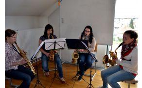 Kvartet saksofonov