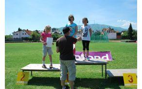 Na športnem dnevu zmagovalci prejeli priznanja iz rok ravnatelja ...