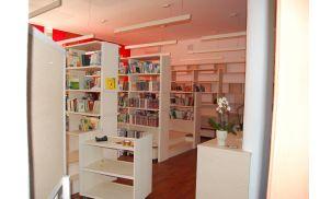 Nova knjižnica OŠ Deskle. Foto: OŠ Deskle