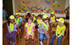Prvi šolski dan v Desklah. Foto: OŠ Deskle