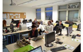 udeleženci na delavnici foto:Matjaž Lesjak