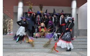 Čarovnice pred odhodom na potep. Foto: Helena Orlič