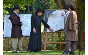 Grof Blagaj si je prizadeval za razvoj šolstva in infrastrukture Polhovega Gradca.
