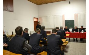 Občni zbor je pozdravil tudi podžupan Franci Pišek.