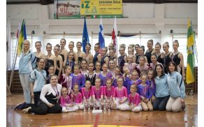 Uspešen zaključek državnega prvenstva za Športni twirling klub Deskle