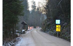 Dela na odseku Ljubljanica–Briše v izvajanju