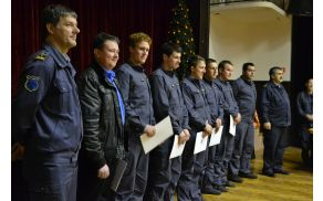 Ekipa PGD Žažar je s strani podpoveljnika GZS in predsednika regije Ljubljana I za svoje uspehe prejela največ priznanj.