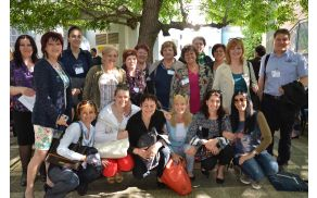 Izmenjava dobrih praks v projektu NET-AGE tokrat v Italiji. Foto: Klara Golja