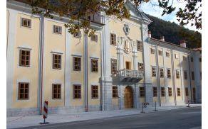 Zunanjost dvorca Lanthieri