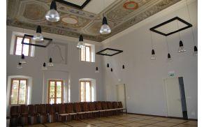 Ena od dvoran Lanthierijevega dvorca