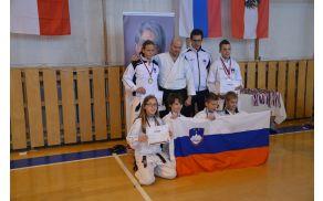 Učenci Oš Kanal so na tekmovanju na Češkem dsoegli odlične rezultate. Foto: Arhiv Aljaža Markiča