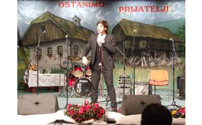 Stand-up komedijant in imitator Tin Vodopivec