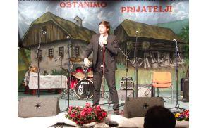 Stand-up komedijant in imitator Tin Vodopivec
