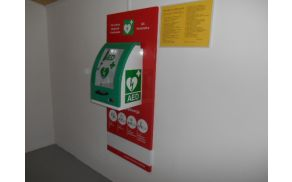 defibrilator Kambreško;  foto: Dora Ravnik