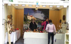 Tudi naša občina je bila na Andrejevem sejmu v Gorici.