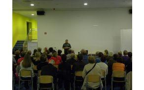 Predavanje zdravnika Primoža Kušarja iz Ambulante družinske medicine Polhov Gradec