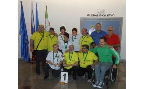 V državnem vrhu med pikaderji in šahisti invalidi. Foto: arhiv društva