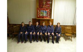 Novi gasilski pripravniki. Arhiv: PGD Kanal