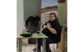 Miša Pušenjak je predavala v Šentrupertu