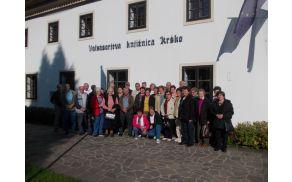 obisk knjižnice v Krškem