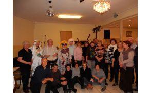 Udeleženci izleta v Gornji Dubavi