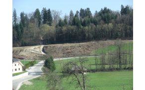 Obnova mostu čez Vrševnik in ceste čez Skrhanijo