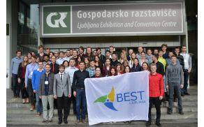 Tekmovalci in organizatorji EBEC Alpe-Adria 2016