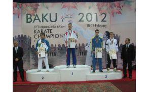 Podelitev medalj, Baku, Azerbajdžan. Foto: osebni arhiv