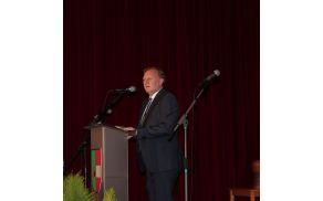 Slavnostni govornik dr. Anton Šepetavc (foto: L. Sreš)