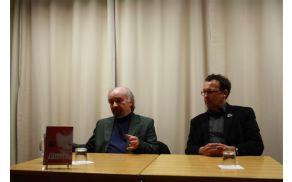 Evald Flisar v pogovoru z Andrejem Blatnikom