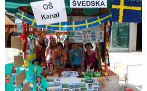 Evropska vas 2013. OŠ Kanal si je izbrala Švedsko. Foto: Arhiv OŠ Kanal