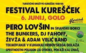 Festival Kurešček obeta dober golaž in rokenrol!