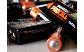 V akciji zbirajo stare baterije ...