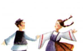 Folklorna sekcija Kulturnega društva Cirkulane. Foto: Arhiv KD Cirkulane.