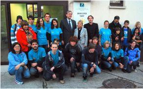Ekipa obeh centrov, ki jo je z obiskom počastil tudi predsednik države dr. Danilo Türk