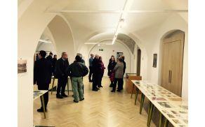 Z odprtja razstave ob 100. obletnici avstro-ogrskega taborišča Sternthal