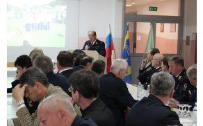 Poročilo predsednika gasilske zveze  Bena Podergajsa