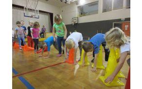 Vsakodnevno gibanje otrok je pomembno.