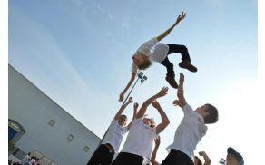 Go-breakers Pantheras mladinski svetovni prvaki 2012. Foto: osebni arhiv Matija Miščič