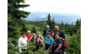 Na najvišjem vrhu Mozirske planine