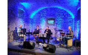 Goran Bojčevski kvartet na gradu Lemberg