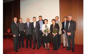 Dobitniki nagrad Gospodarstvenik Primorske za leto 2012. (Foto: Matej Brajnik, Primorske novice)